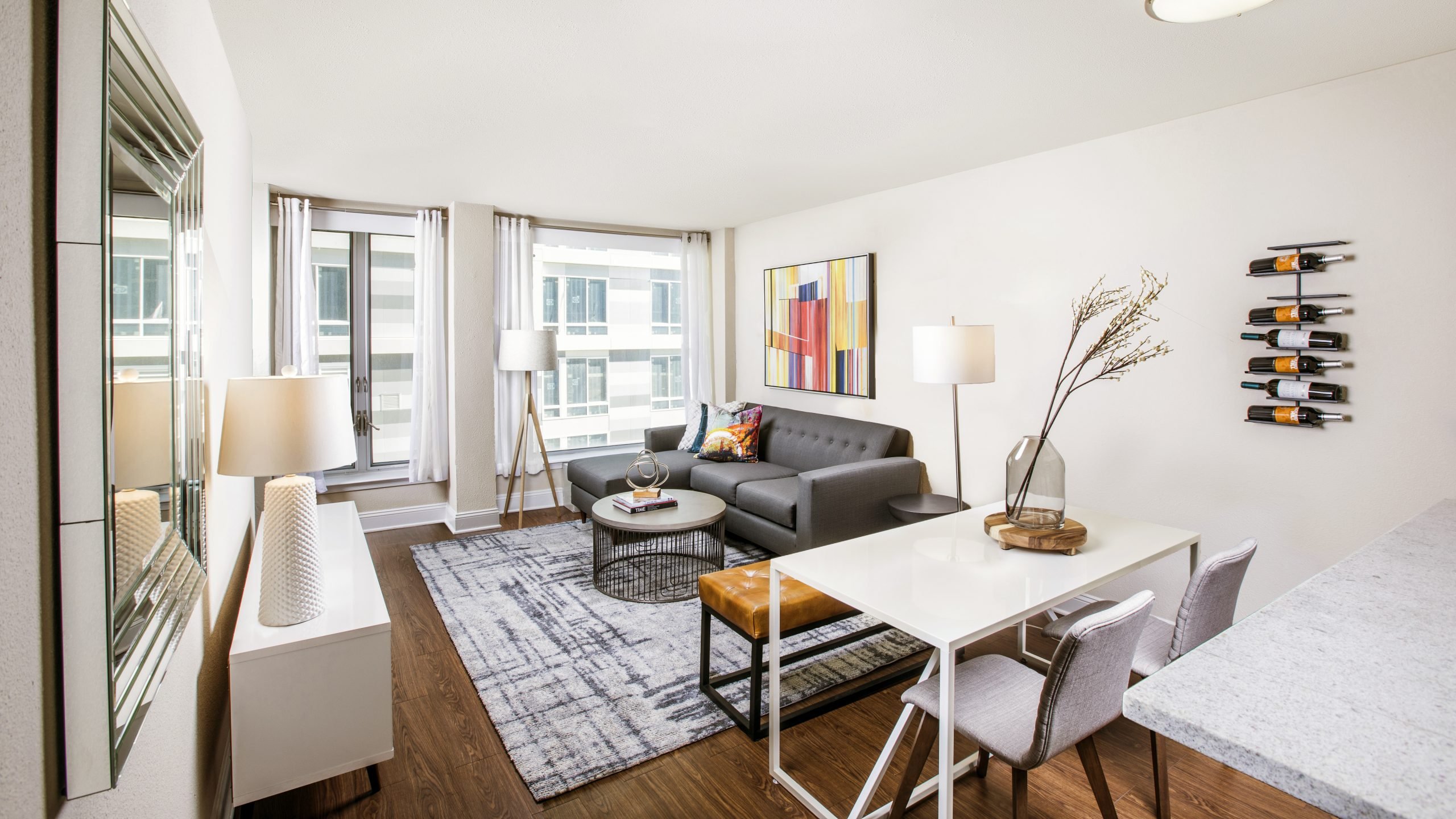 Explore the Perks of Modern on M's Classic Apartments
